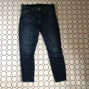 MOTHER-The Looker Crop-Size 28